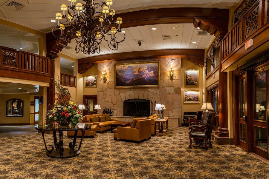 Grand Canyon Railway Hotel Lobby
