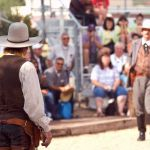 Grand Canyon Railway shootout