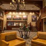 Grand Canyon Railway Hotel Lobby Front Desk
