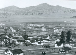 Overlooking Williams, AZ and Depot - ca.1925