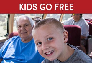 Kids Ride, Stay & Eat FREE